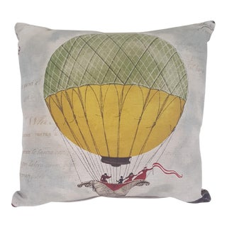 Hot Air Balloon Square Pillow For Sale