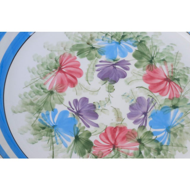 Mid 20th Century Gary Valenti Italian Ceramic Bowls, a Pair For Sale - Image 5 of 8