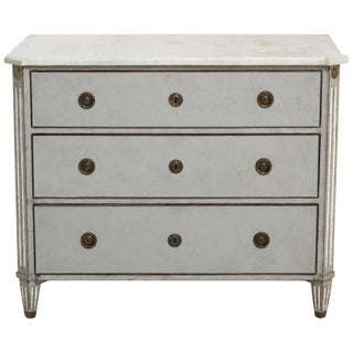 19th Century Antique Swedish Gustavian Chest For Sale