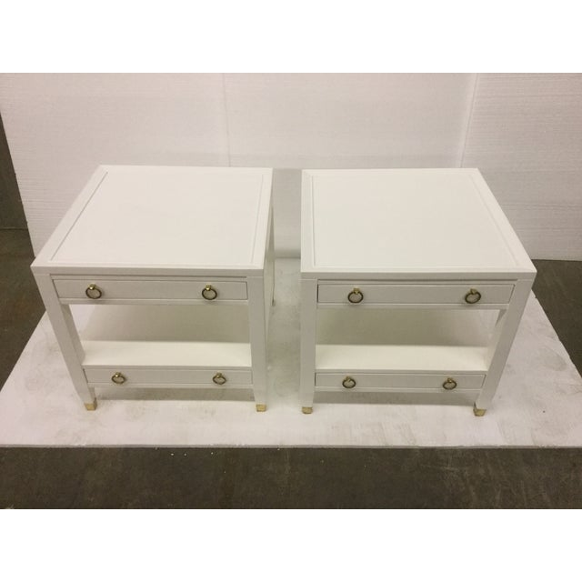 Somerset Bay Home Malibu Loft White End Tables - A Pair - Image 2 of 5