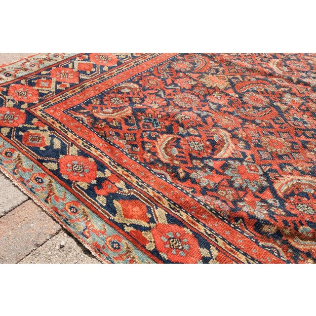 "Persian Malayer Palace Runner 7' x 19'2"" - Image 4 of 6"