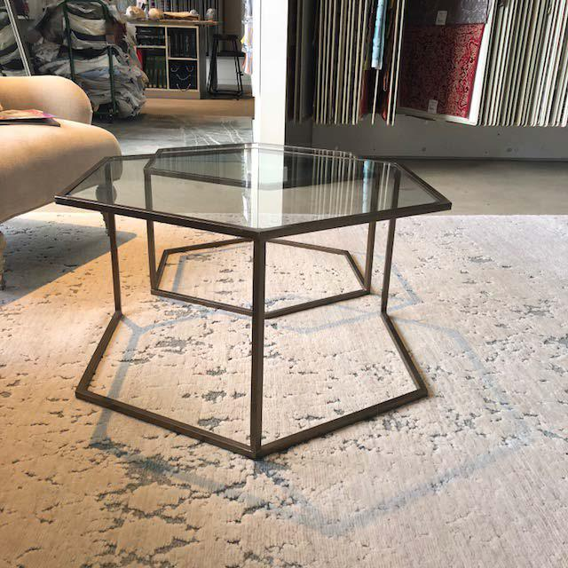 Early 21st Century Contemporary Nesting Cocktail Tables - A Pair For Sale - Image 5 of 7