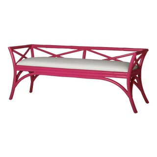 Charlotte Bench - Bright Pink For Sale