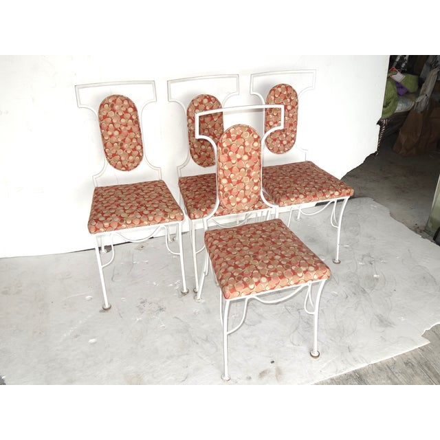 Mid-Century Modern Metal Chairs - Set of 4 - Image 3 of 8