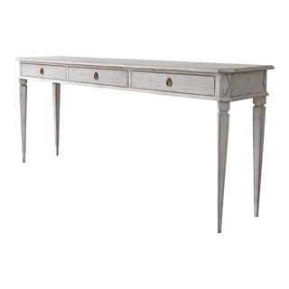 Lars Gustavian Console Table For Sale