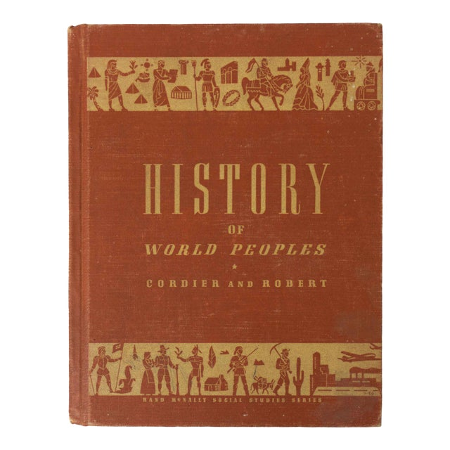 History of World Peoples, 1949 School Book For Sale
