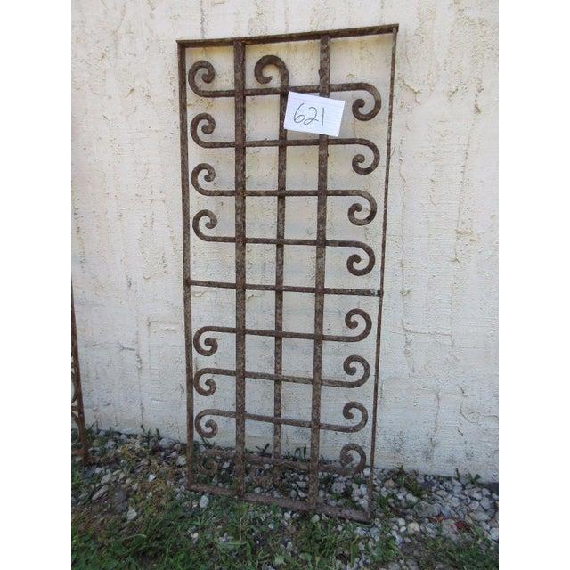 Victorian Iron Gate Window Garden Fence Door - Image 3 of 6