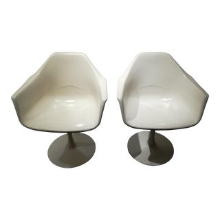 Mid-Century Modern Tulip Chairs - A Pair