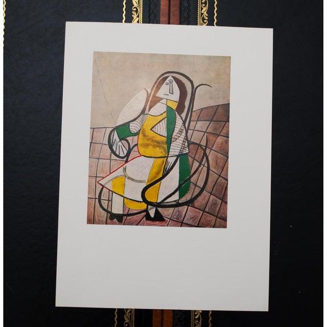 1971 Parisian Picasso Femme Assise Dans Un Rocking Chair Photogravure For Sale In Dallas - Image 6 of 8