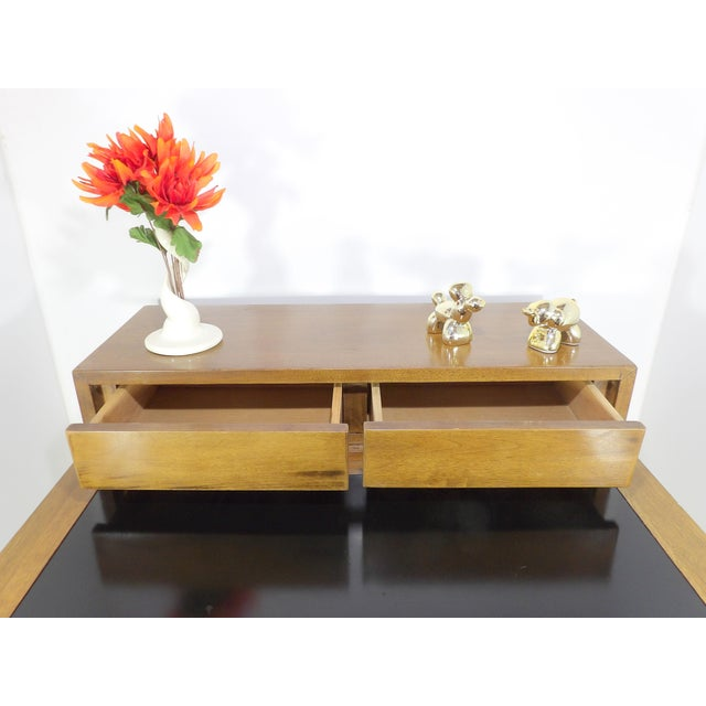 1950s Mid Century Modern American of Martinsville Sectional Sofa Divider Table For Sale - Image 9 of 12