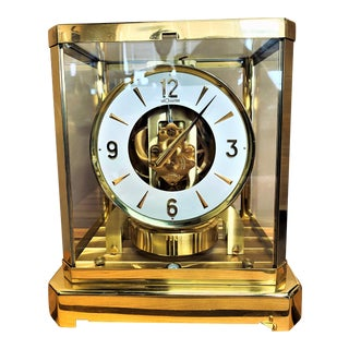 Jaeger LeCoultre Atmos 528-8 15 Jewel Clock For Sale