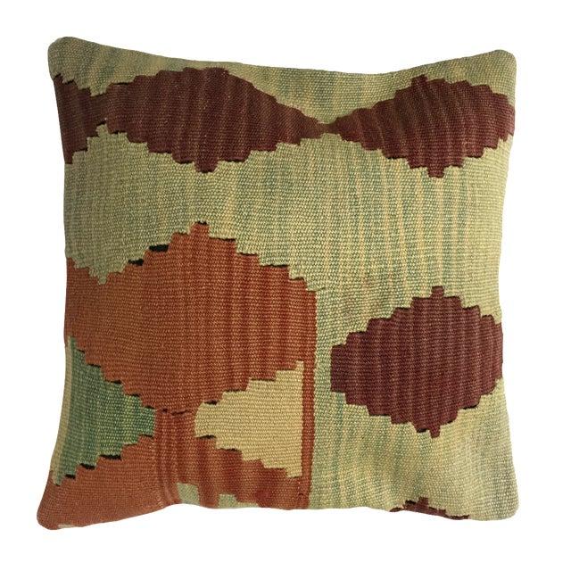 Handmade Kilim Pillow Cover - Image 1 of 5