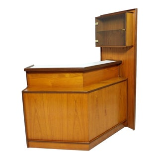 Beautiful Turnidge Teak Cocktail Drinks Bar Mid Century Vintage Danish For Sale