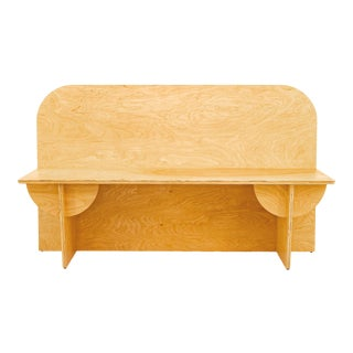 Birch Plywood Apollo Bench For Sale