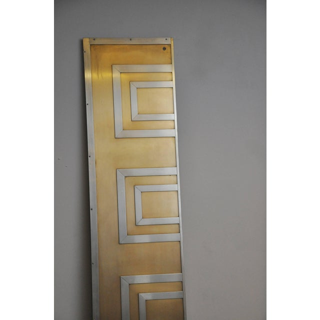 Glamorous Bronze and Stainless Entry Doors For Sale In Chicago - Image 6 of 8