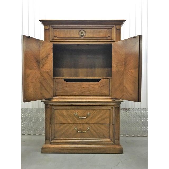 Traditional 1969 Vintage Thomasville Tallboy Dresser For Sale - Image 3 of 8