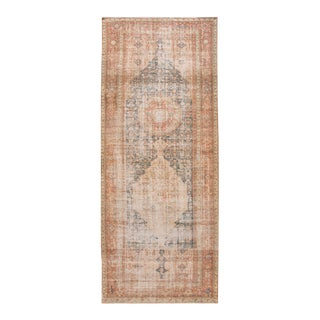 Vintage Persian Malayer Wool Runner For Sale