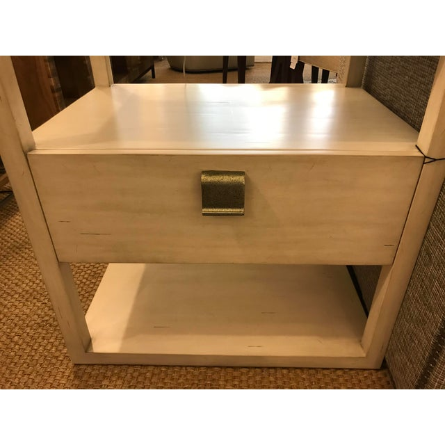 Transitional Century Furniture New Haven One Drawer Side Table For Sale In Los Angeles - Image 6 of 9