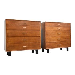 George Nelson for Herman Miller Dressers - a Pair For Sale