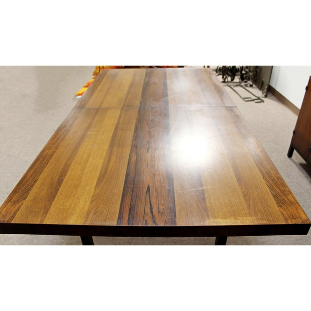 Mid Century Modern Milo Baughman Directional Dining Table Dillinghman 6 Chairs For Sale - Image 11 of 12