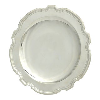Tiffany Hampton Sterling Pedestal Cake Plate For Sale