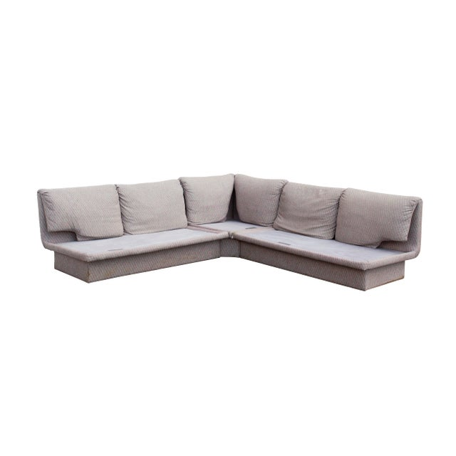 Postmodern Postmodern Three Piece Sectional Sofa by Bernhardt - Set of 3 For Sale - Image 3 of 13