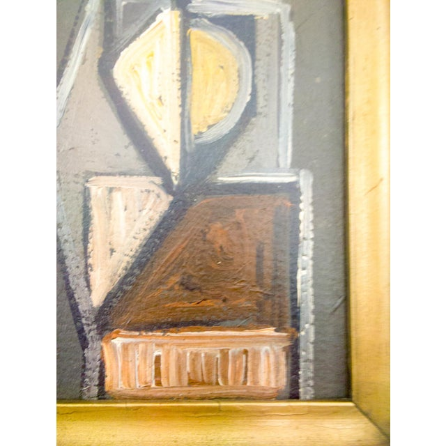 Cubism Cubist Figure Portrait Painting For Sale - Image 3 of 7