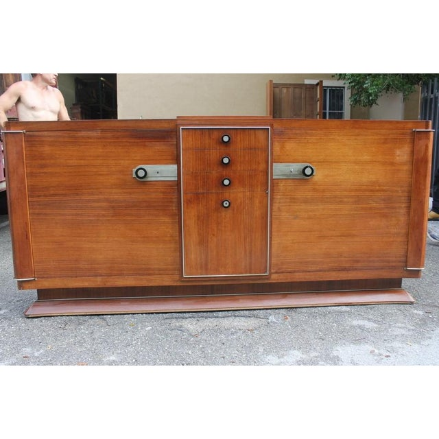 Superior Unique French Art Deco Masterpiece Sideboard / Buffet by ...