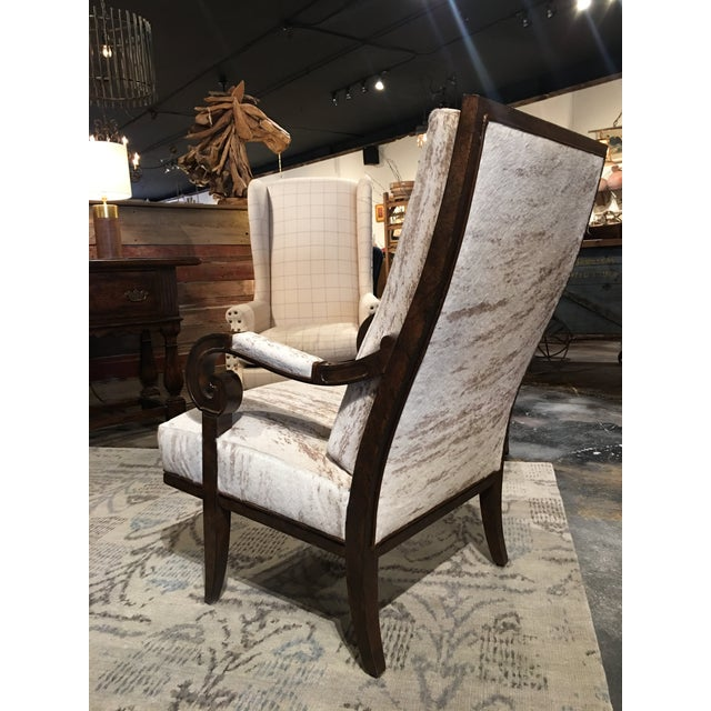 Paul Robert Leather Hyde Cosmo Chair For Sale In Denver - Image 6 of 10