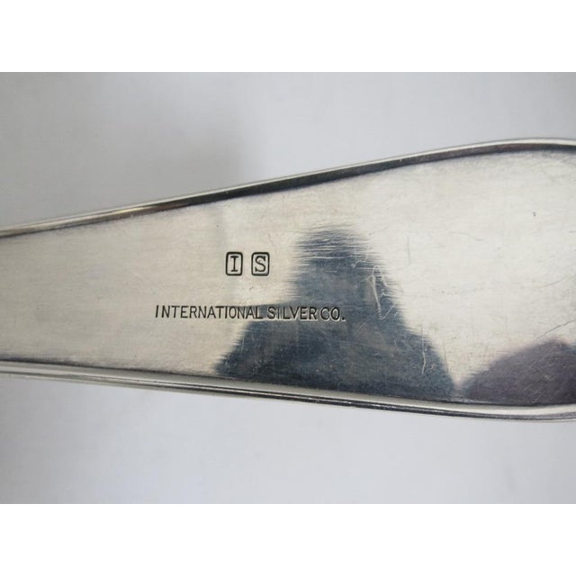 """1960s International Silver """"Hutton"""" Silver Punch Ladle For Sale - Image 5 of 6"""