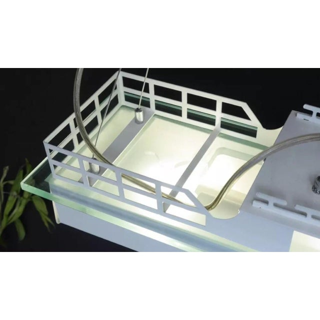 Modern Boat Light Fixture - Image 3 of 3
