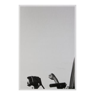 """Edgar Arceneaux an Iconic Form Signed 14"""" X 9.5"""" Giclee 2008 Photography Black & White Hand, Fist For Sale"""