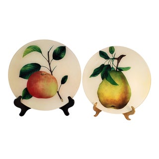 John Derian Decorative Plates - a Pair For Sale