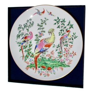 Royal Worcester Birds Plate For Sale