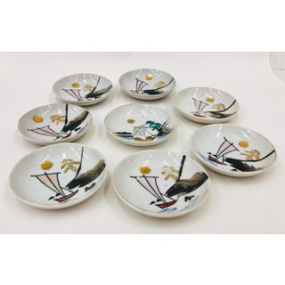 Vintage Hand Painted Serving Bowl Set Preview