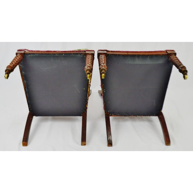 Victorian Eastlake Side Chairs - a Pair For Sale - Image 12 of 13
