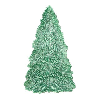 Lastra Holiday Figural Tree Platter For Sale