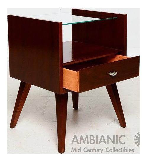 fine pair of mid-century modern nightstandsmengel | decaso Modern Nightstands