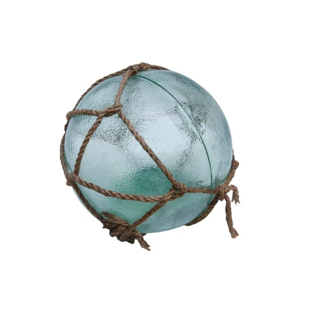 Mid 20th Century Large Hand Blown Glass Fishing Floats, Set of 3 For Sale - Image 5 of 11