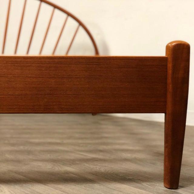Jespersen Danish Modern Teak King Bed For Sale - Image 4 of 11