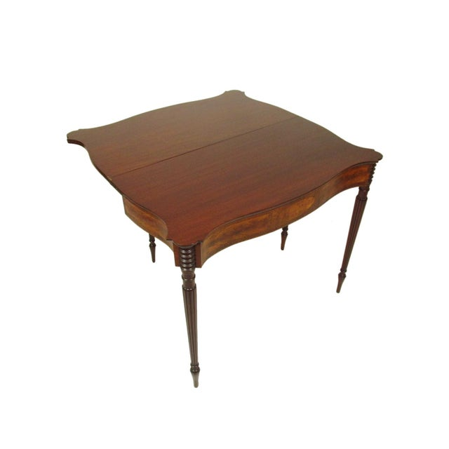 Late 19th Century Federal-Style Card Tables - a Pair For Sale - Image 11 of 13