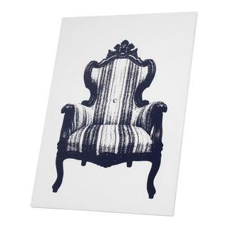 """Yoy Canvas Trompe L'oeil """"Armchair"""" For Sale"""
