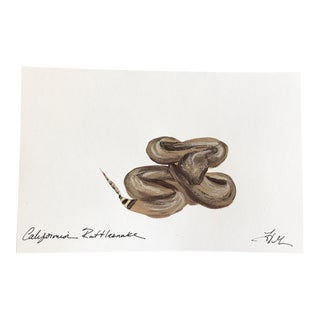 California Rattlesnake Original Acrylic Painting