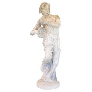 Limestone Statue For Sale