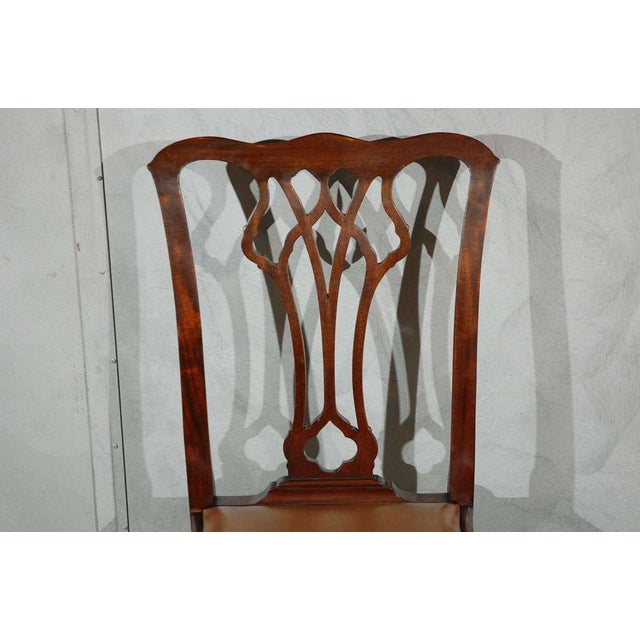 Chippendale Style Side Chairs - Set of 6 - Image 6 of 8