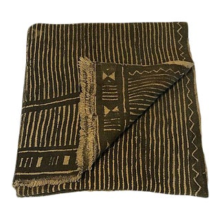 1980s African Mud-Cloth Throw For Sale