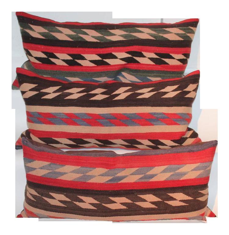 Antique Designer Navajo Pillows DECASO