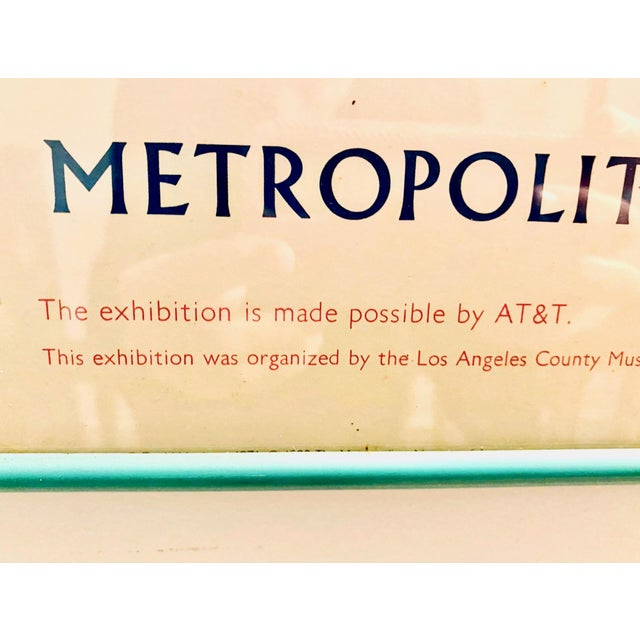"Original Exhibit Poster ""David Hockney: A Retrospective"" Metropolitan Museum of Art 1988 For Sale In New York - Image 6 of 11"