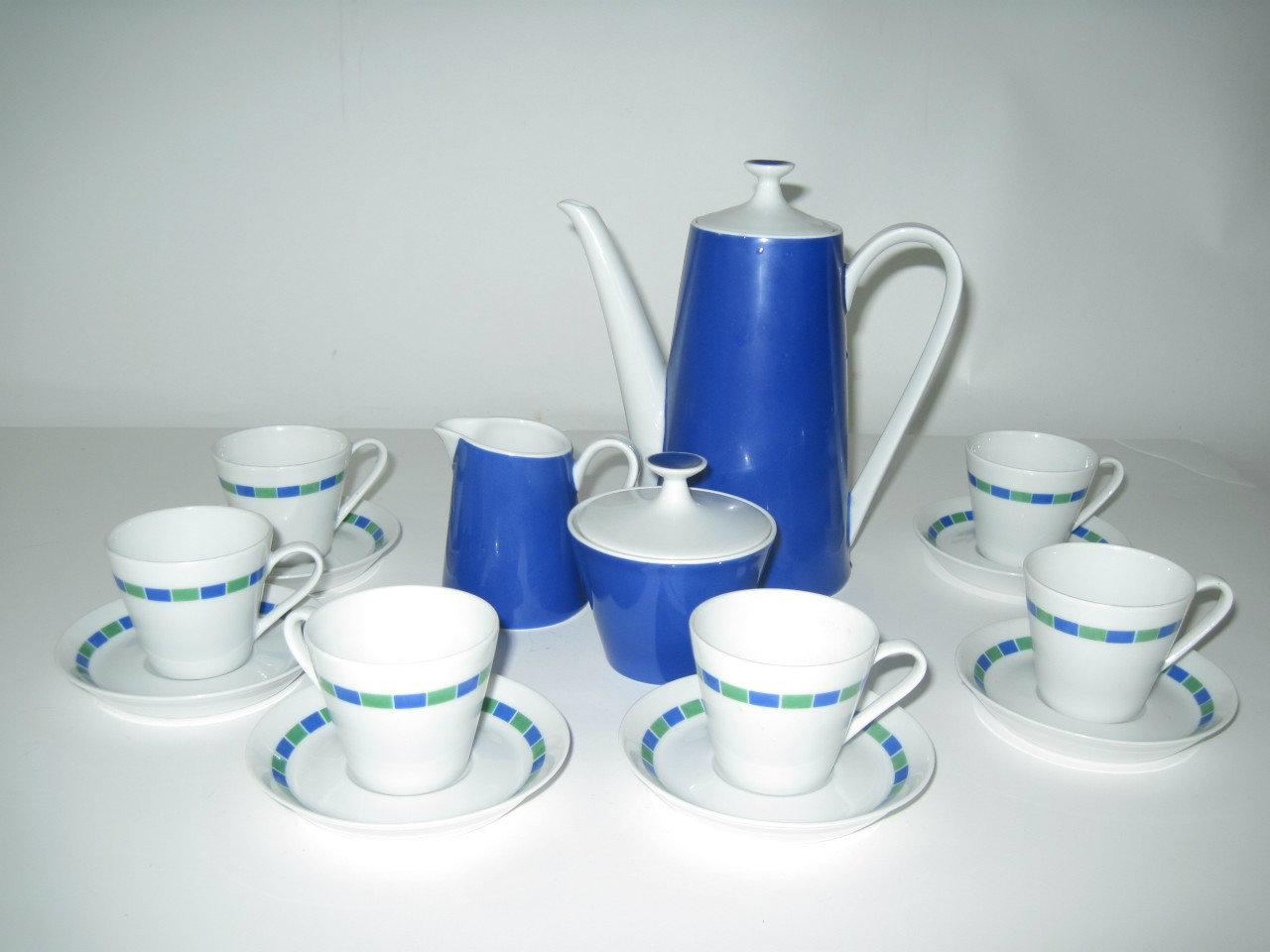 Fairwood China Mid-Century Modern Tea Set- Schonwald Germany - Image 2 of 7  sc 1 st  Chairish & Fairwood China Mid-Century Modern Tea Set- Schonwald Germany | Chairish
