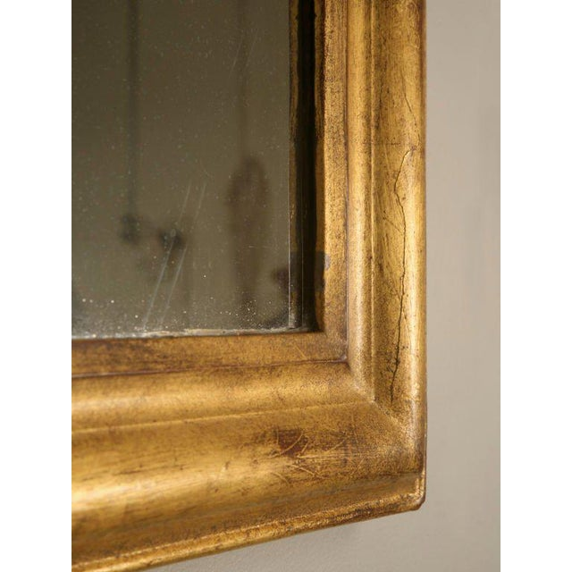 Gold French Louis Philippe Gilt Mirror, Circa 1850 For Sale - Image 8 of 12